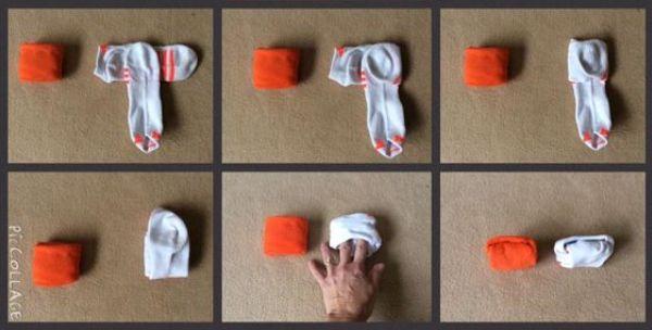как складывать носки кон мари