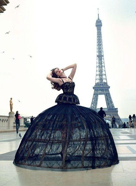 Изящные французские зонтики