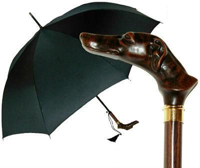 Зонт с головой собаки