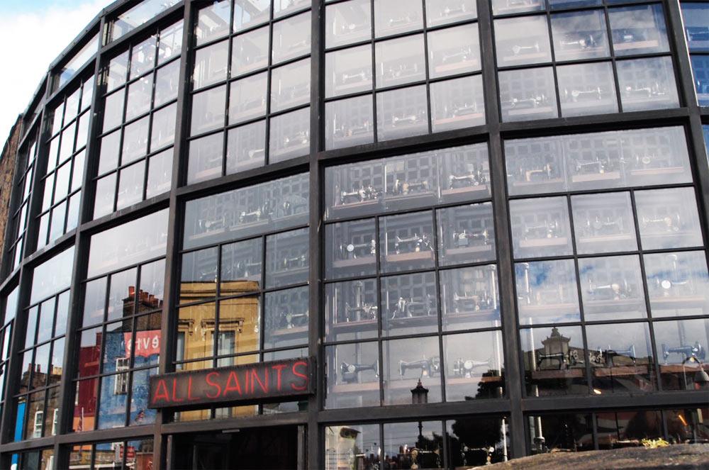 Сегментированная витрина
