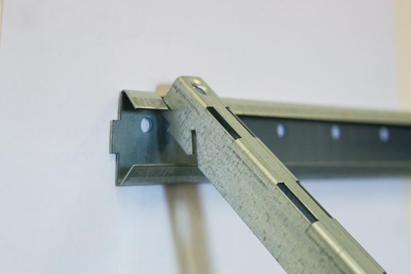 Металлические полки для гаража модульная система