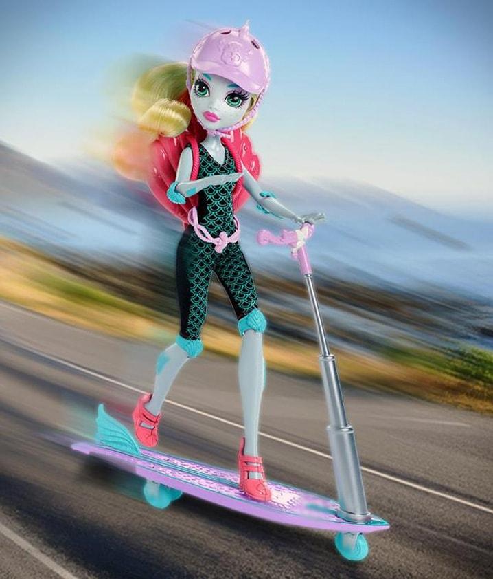 Кукла Лагуна Блю на скутере - Игровой набор