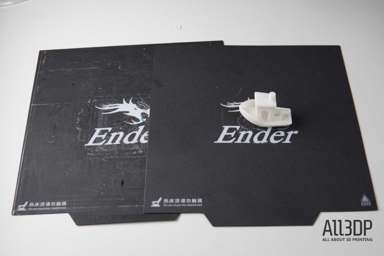 Обзор Creality Ender 3 Pro - стол, кровать