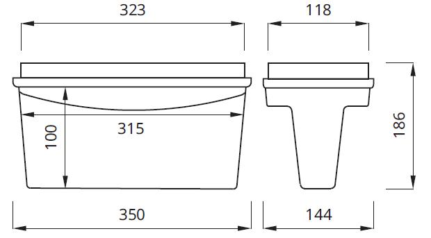 Размер на указатель эвакуационного выхода Tiger DS Awex