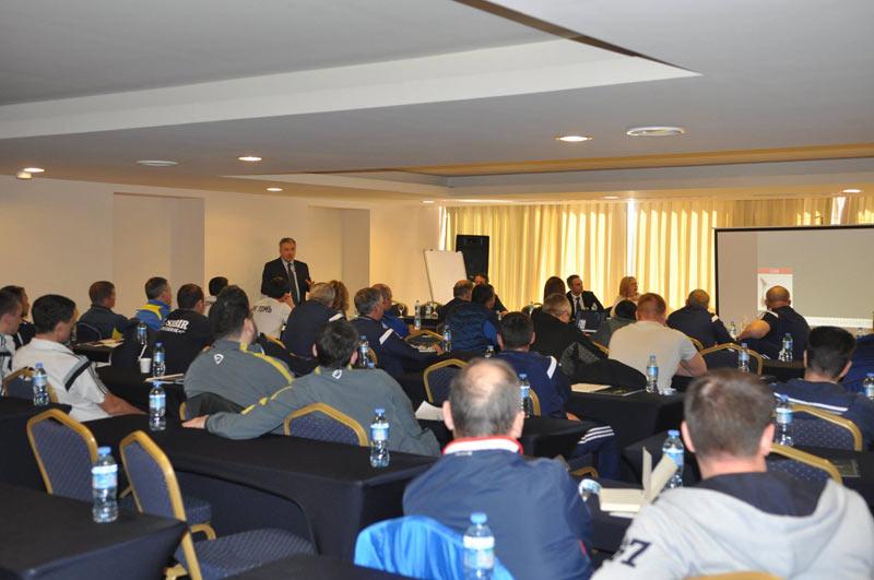 Семинар FNL Sports Medicine с итальянской клиникой Villa Stuart Clinic
