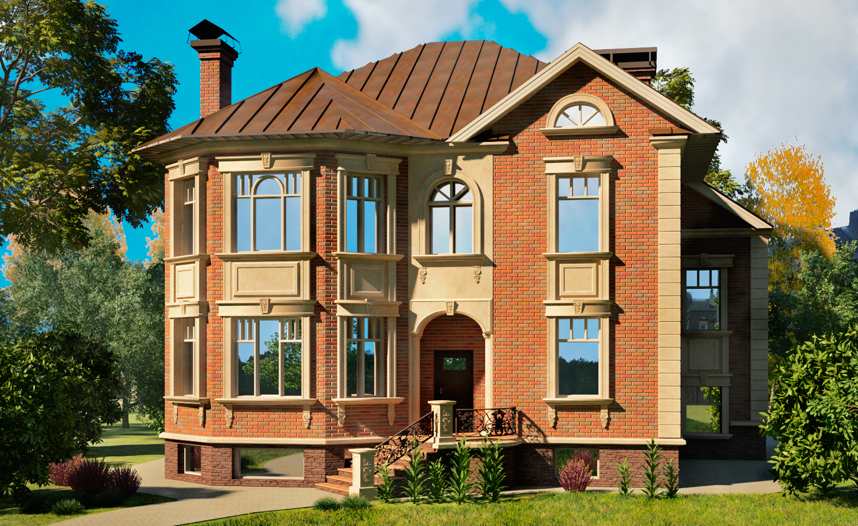 дом с пенопластом