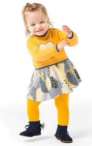 Платье Boboli для девочек купить в интернет-магазине Мама Любит (модель Пушистое сердце)