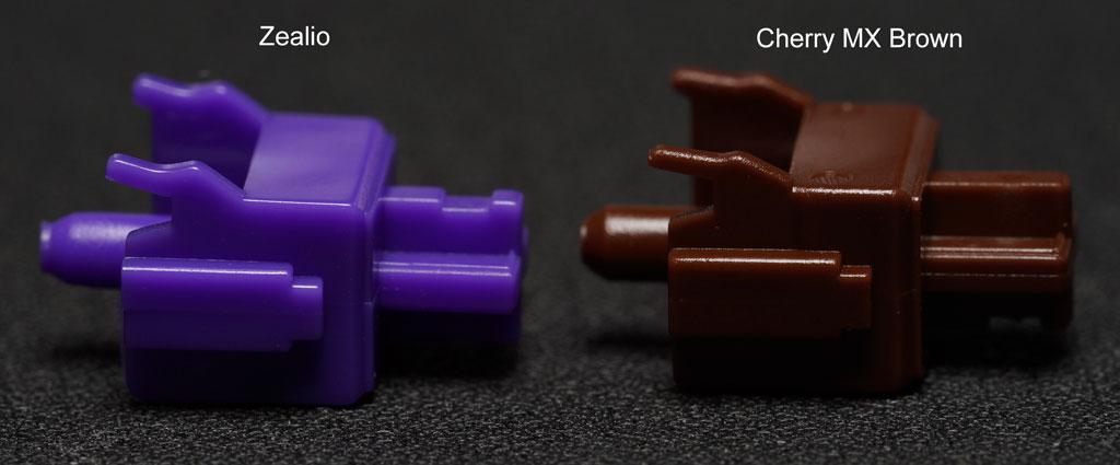 Zealio vs Cherry MX Brown