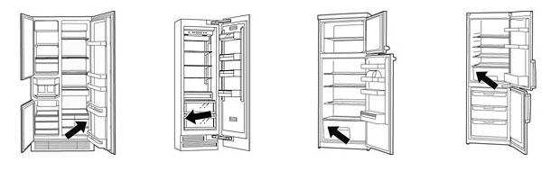 Шильдик холодильника