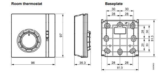 Размеры Siemens RAA41