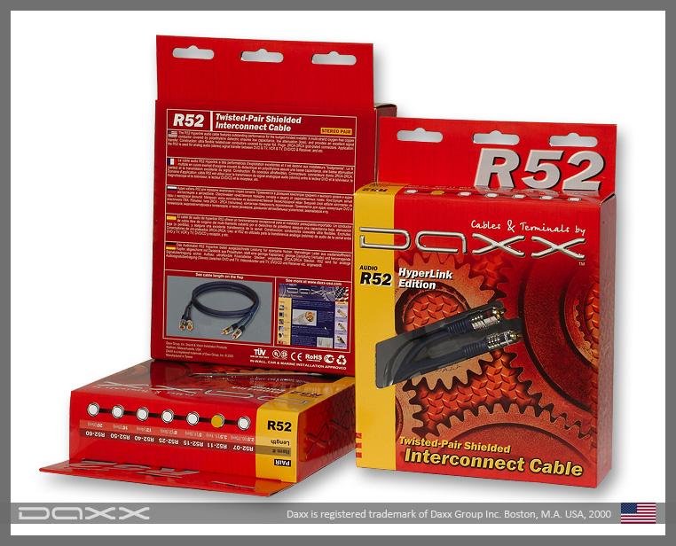 Аудио кабель DAXX R52