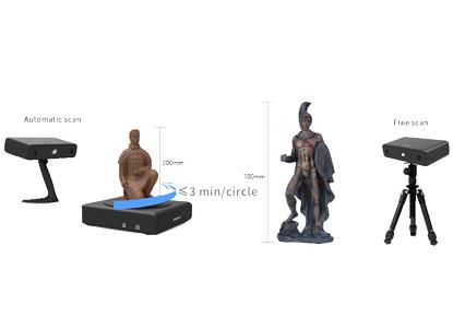 EinScan-S 3D Scanner_3D Scan model