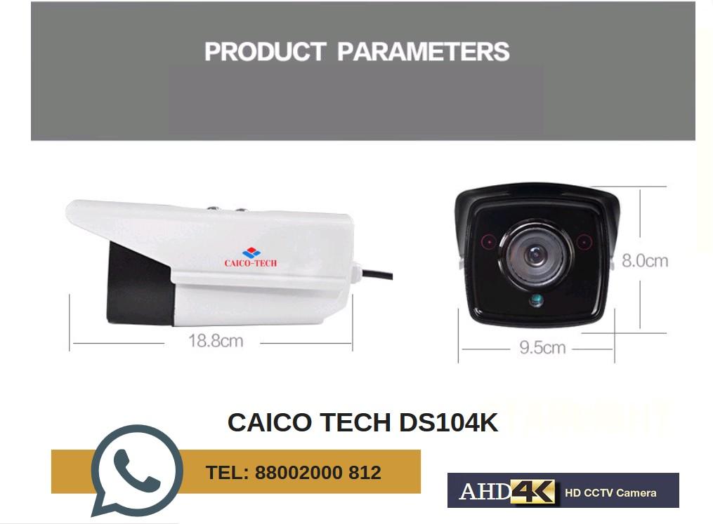 Видеокамера CAICO TECH 4K AHD- TVI