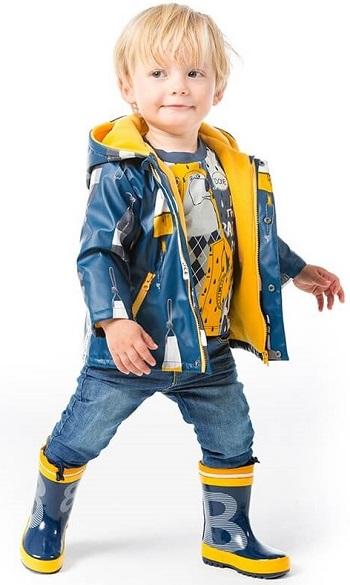 Плащ Boboli купить для мальчиков в интернет-магазине Мама Любит (модель Морской)