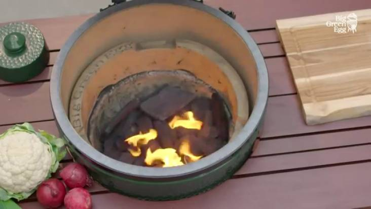 Контроль температуры в гриле BIG GREEN EGG®
