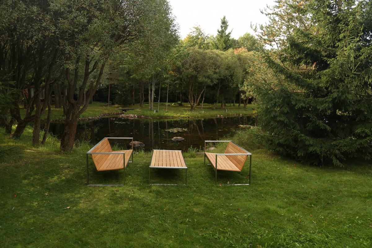 дизайнерская садовая мебель TRIF на заказ