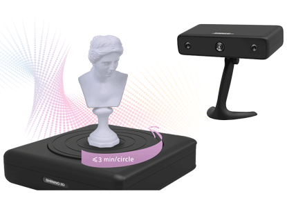 EinScan-S 3D Scanner_3D Scan model