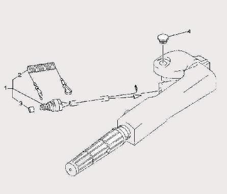 Запчасти электрики для лодочного мотора F9,9 Sea-PRO