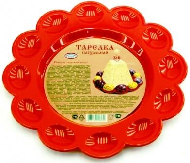 Пасхальная тарелка для яиц и кулича | церковная посуда,Тарелка для Пасхального кулича и яиц