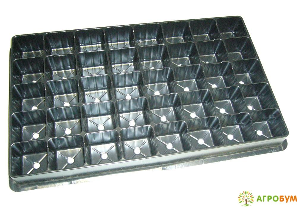 Кассета рассадная на 40 ячеек для клубники