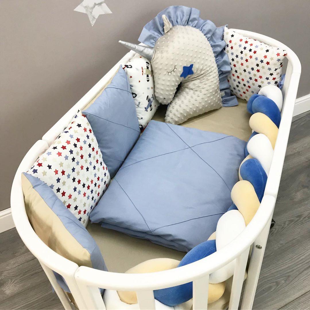 Комплект в кроватку мальчику на заказ