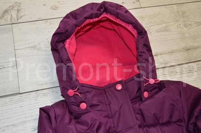 Капюшон пальто Premont Ягодный смузи