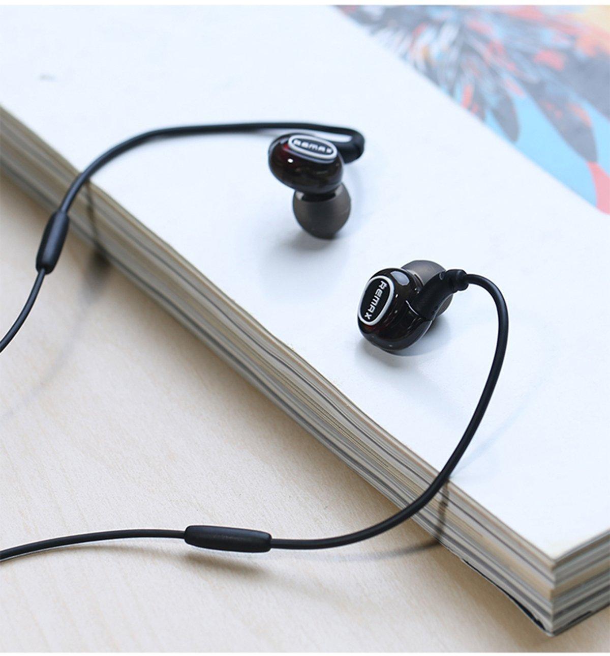 Наушники с микрофоном Remax S1 Pro Black