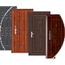 Дизайн и отделка входной двери
