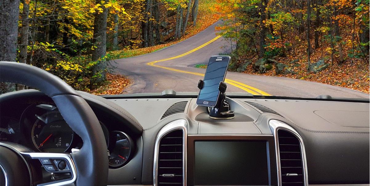 Onetto Mount Easy View 2 - Автомобильный держатель премиум-класса на присоске.