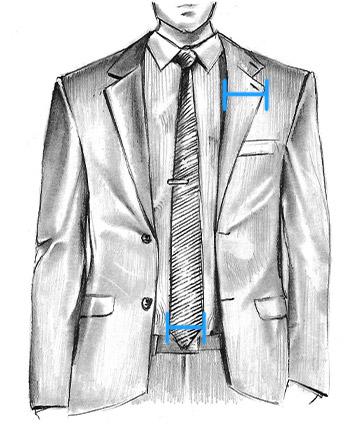 Как выбрать ширину галстука