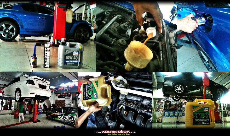Mazda RX8, Nissan Latio, Toyota Vios обслуживаться с использованием LIQUI MOLY моторного масла и присадок.