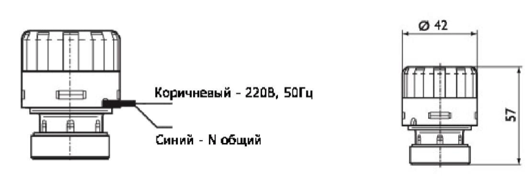 Схема привода узла обвязки CENT