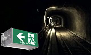 Аварийное освещение тоннелей и подземных сооружений