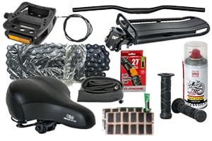 Запасные части для велосипедов