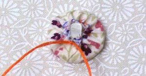 Пуговицы из ткани