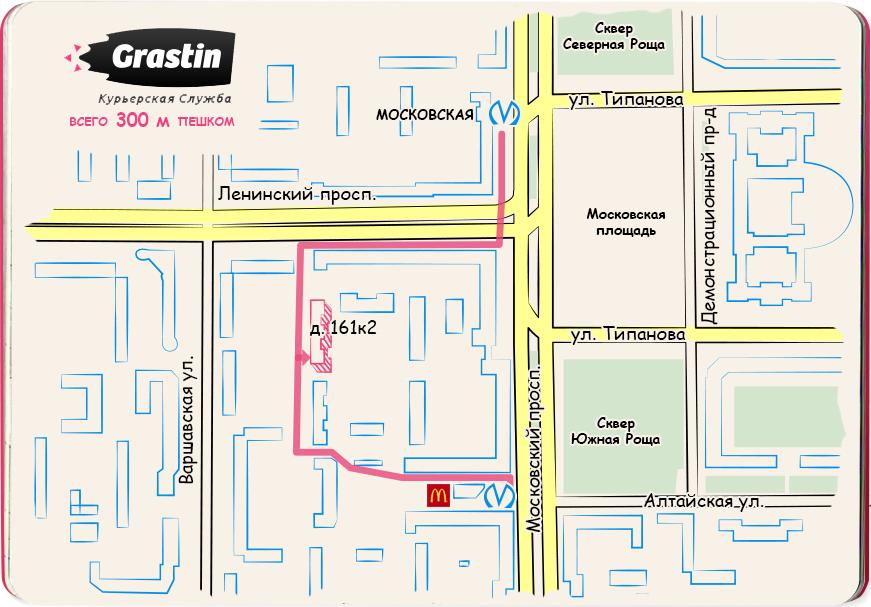 СПб метро Московская