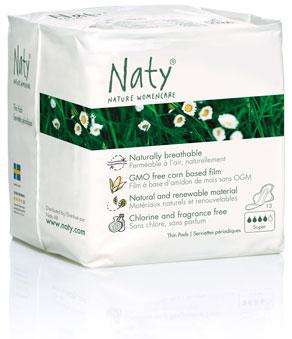 Эко гигиенические прокладки для мам Naty