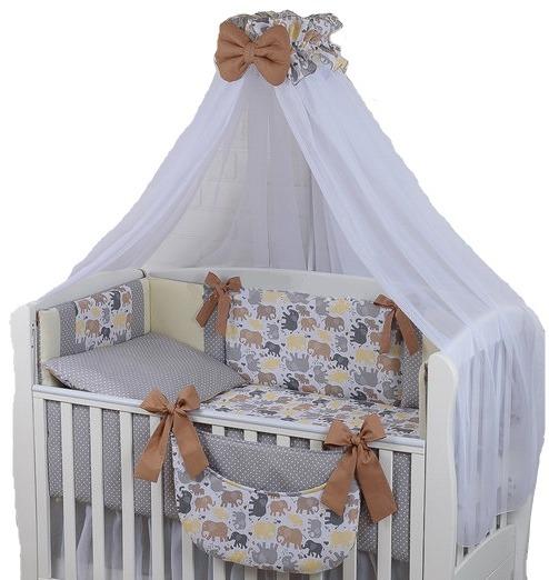 постільні комплекти в дитяче ліжечко для немовлят