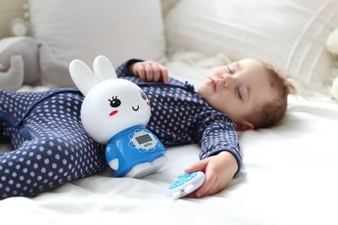 Большой синий зайчик Alilo G7 в интернет-магазине Мама Любит