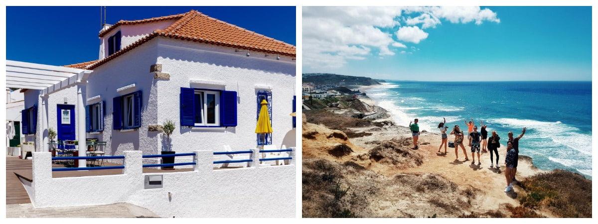 Серф-вилла на берегу Португалия