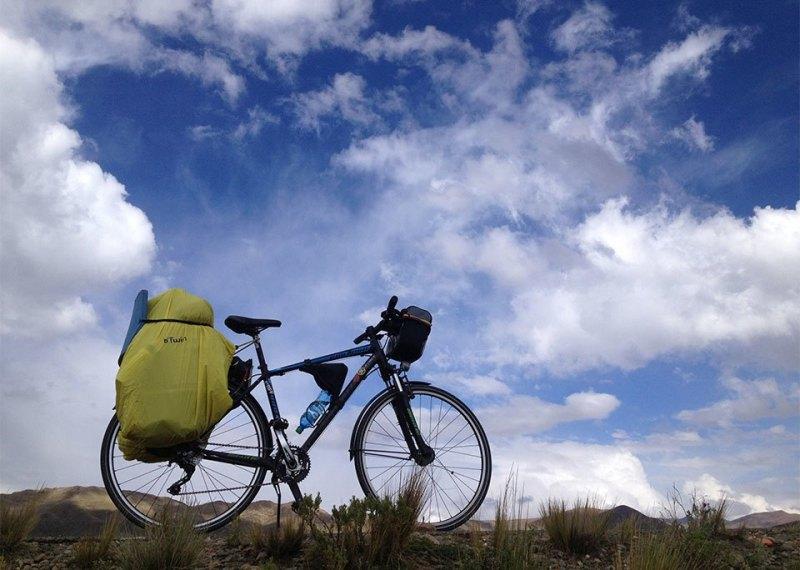 велосипед и небо
