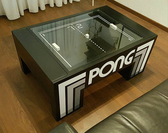 Atari Ping Pong Game Table