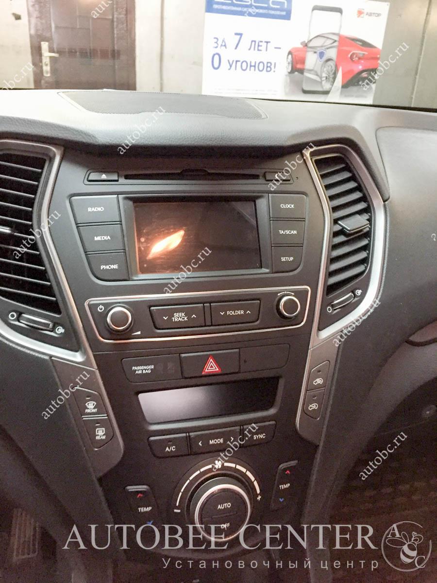 Hyundai Santa Fe магнитола 2din