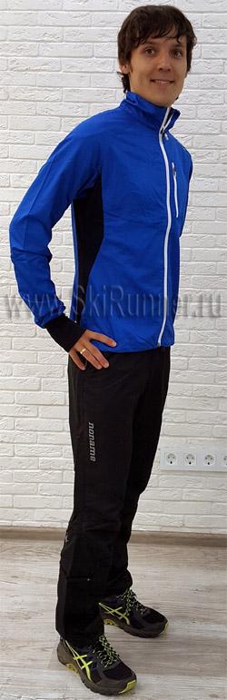2000777-660092 Костюм беговой Noname Robigo 17 Endurance Blue