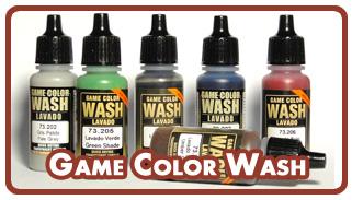 Проливки Vallejo Game Color Wash