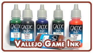 Краски Vallejo Game Ink