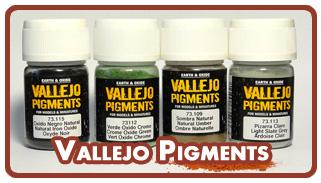 Сухие пигменты Vallejo Pigments