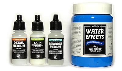 Вспомогательные материалы Acrylicos Vallejo