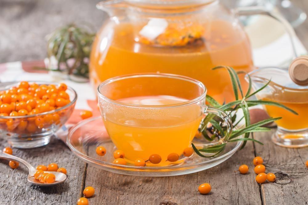 Облепиховый чай: со свежими и замороженными ягодами