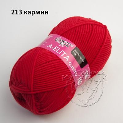 Аэлита кватро - A-elita quatro (Семеновская) 213 кармин